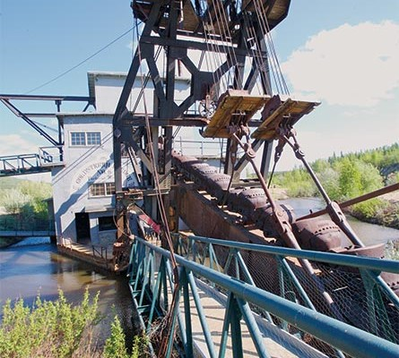 Gold Dredge #8 outside of Fairbanks
