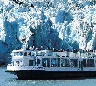 Portage Glacier Cruise Tour Self Drive Gray Line Alaska - Alaska tour