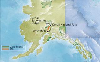 Tour 3BP Route Map