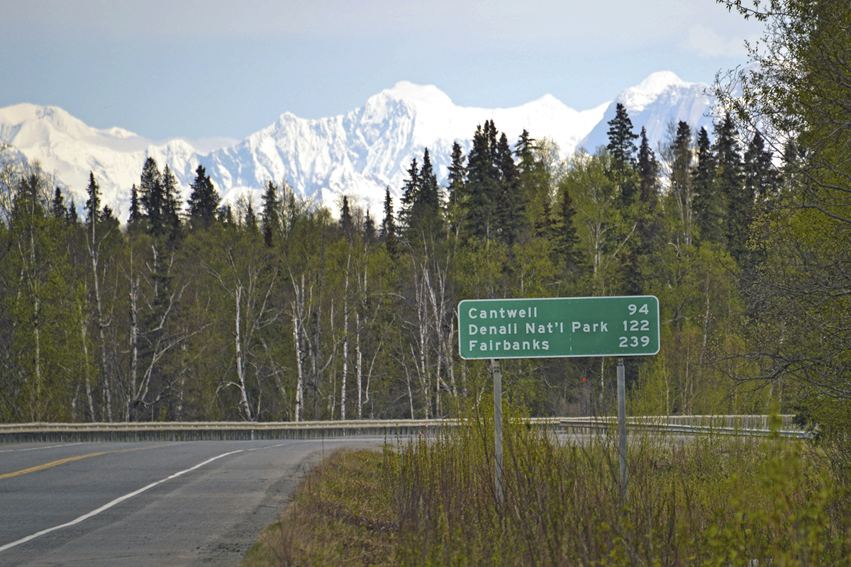 What to see on the road 61